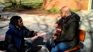 Download A homeless man join a singer at the park and Start crying - Inspire Others Video