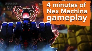 Download 4 minutes of Nex Machina gameplay Video