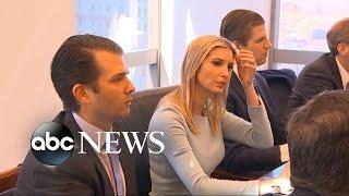 Download Trump's Children Exposing Potential Conflict of Interest Video