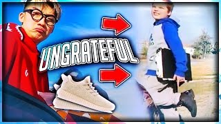 Download Giving Out Free Shoes But UNGRATEFUL KID ROAST ME Video