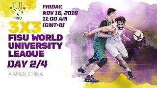 Download LIVE 🔴 - 3x3 FISU World University League - 2018 Finals - Day 2 - Xiamen, China Video