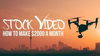 Download Stock VIDEO isn't DEAD! Make $2000/month Video