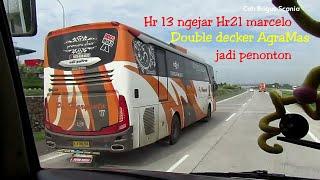 Download knalpot Jet,Hr13 ngejar Haryanto 21 marcelo-Double Decker Agramas,lari cepat diatas 120km Video