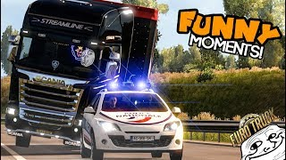 Download Euro Truck Simulator 2 Multiplayer   Funny Moments & Crash Compilation   #51 Video