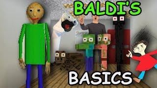Download Monster School: BALDI'S BASICS Challenge - Minecraft Video