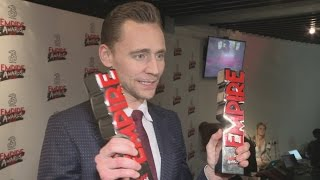 Download Empire Awards: Tom Hiddleston doesn't feel he deserves 'Hero' award Video