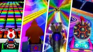 Download Evolution of Rainbow Road in Mario Kart Games (1992 - 2017) Video