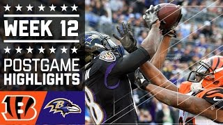 Download Bengals vs. Ravens | NFL Week 12 Game Highlights Video