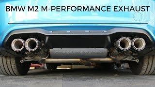 Download BMW M2 M-Performance Exhaust Detail Review - Is it worth the money? Video