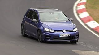 Download Volkswagen Golf R420 - 5-Cylinder ENGINE SOUNDS On The Nurburgring! Video