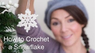 Download How To Crochet a Snowflake Video