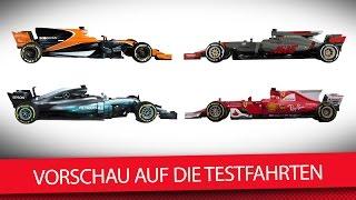Download Fakten-Check: Wissenswertes zum F1-Testauftakt 2017   Formel 1-Testfahrten Barcelona 2017 Video