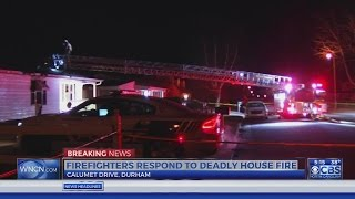 Download Man found dead inside Durham home engulfed in flames Video