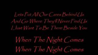 Download When the Night Comes (lyrics) - Joe Cocker (Live) Video