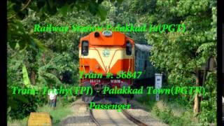 Download Train Announcement: Trichy-Palakkad Town Passenger Video