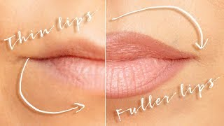 Download Bigger lips with makeup - no fillers Video