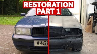 Download Restoring A High Mileage Car To Its Former Glory: Part 1/2 Video
