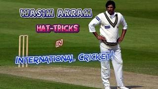 Download All Wasim Akram Hat-Tricks in Cricket | SULTAN OF SWING...KING OF YORKERS!! Video