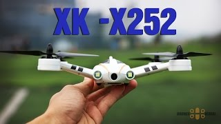Download XK X252 FPV Quadcopter Review Unboxing and Maiden Flight Video