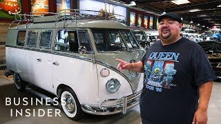 Download Inside Comedian Gabriel Iglesias' $3 Million Volkswagen Bus Collection Video