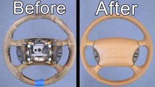 Download How To Restore Your Car's Steering Wheel (Looks Brand New!) Video