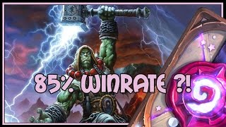 Download Hearthstone: 85% winrate ?! (midrange shaman) Video