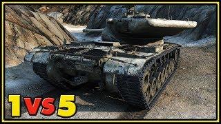 Download T57 Heavy - 12 Kills - 1 VS 5 - World of Tanks Gameplay Video