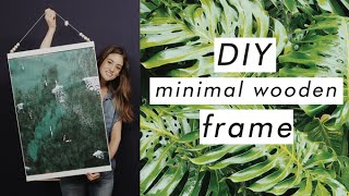 Download Simple & Clean Wooden Frame DIY (Filmed at YouTube Space LA!) Video