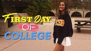 Download First Day of COLLEGE VLOG! Video