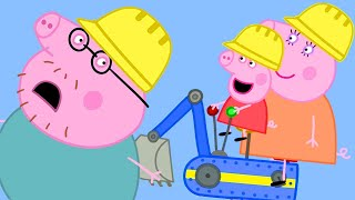 Download Peppa Pig Official Channel | Peppa Pig Goes to Digger World! Parents' Day Video