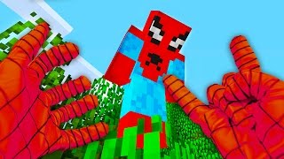 Download REALISTIC MINECRAFT - STEVE BECOMES SPIDER MAN! Video