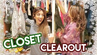 Download HUGE CLOSET CLEAR OUT! | Vlogmas Day 16 Amelia Liana Video
