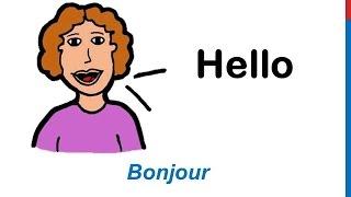 Download Cours d'anglais 3 - Salutations Formules de politesse en Anglais Expressions Saluer Dire bonjour Video