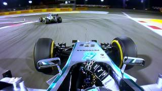 Download Rosberg v Hamilton, 2014 Bahrain Grand Prix | F1 Classic Onboard Video