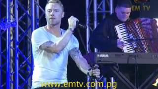 Download Ronan Keating in Papua New Guinea Video