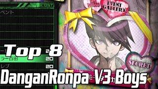 Download Top 8 DanganRonpa V3 Boys - KINDA Spoiler Free Video