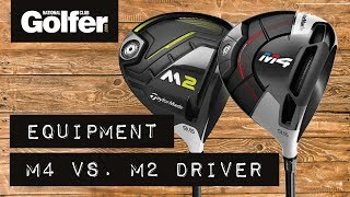 Download TaylorMade M4 Driver vs TaylorMade M2 Driver Comparison with Trackman 4 Video