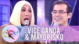 Download Vice Ganda tells Isko Moreno that he is the most handsome Mayor in the Philippines | GGV Video