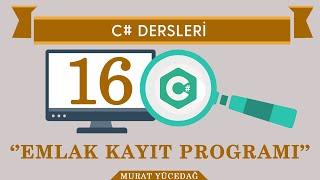 Download C# Ders-16 Emlak Kayıt Programı Video