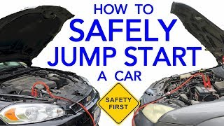 Download How To Safely Jump Start A Vehicle With A Dead Battery & The Correct Way To Hook Up Jumper Cables Video