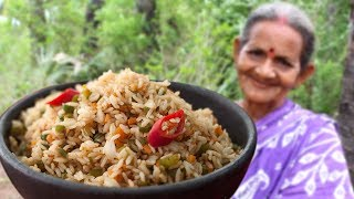 Download Granny Special item Vegetable Fried Rice || Myna Street Food Video