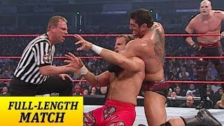 Download FULL-LENGTH MATCH - Raw - Goldberg, Shawn Michaels & RVD vs. Batista, Randy Orton & Kane Video