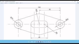 Download Dibujo 01 pieza mecánica en Autocad 2017 (forma 1) Video