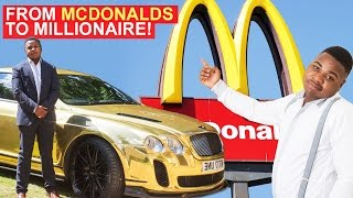 Download From McDonalds to Millionaire - 19-Year-Old Buys Gold Bentley Video
