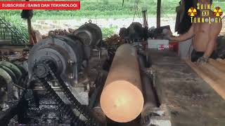 Download Pembuatan TRIPLEK KAYU JATI Tercepat di Dunia ★Teknologi Mesin Tercanggih Video