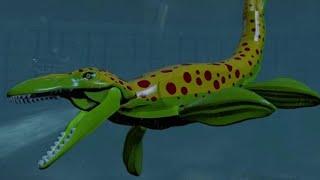 Download LEGO Jurassic World - Mosasaurus Unlock Location + Gameplay (Skeleton & Custom Dinosaur) Video