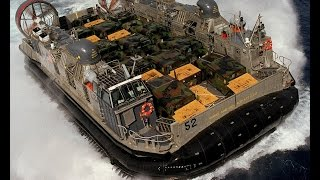 Download Amazing Military Hovercraft in Action Video
