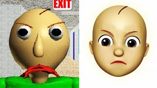 Download Baldi Becomes An Emoji | iOS Memoji Video
