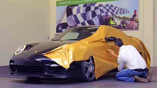 Download Wrapping Porsche. Car wrapping in AutoWrap. Video