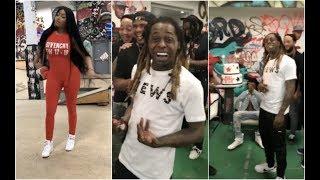 Download Nicki Minaj Throws Lil Wayne Surprise Birthday Party At Skate Park #AllUrbanCentral Video